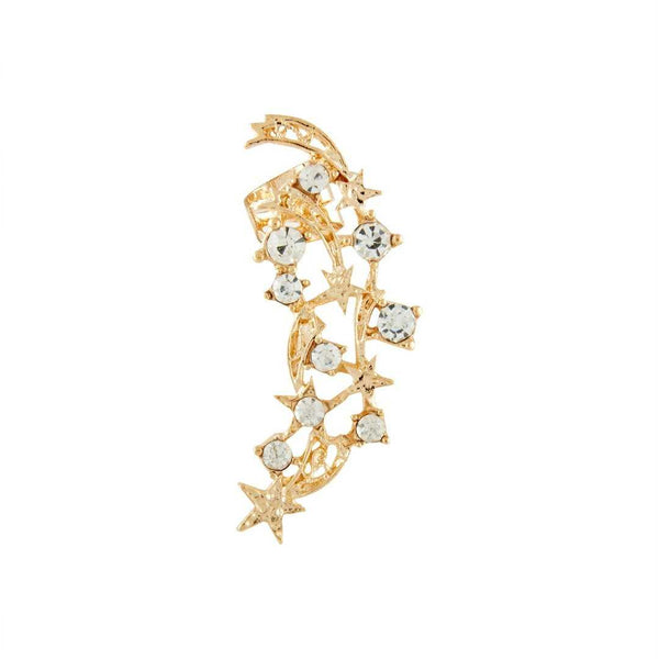 24k Gold Ear Cuffs with Crystals - emarkiz-com.myshopify.com