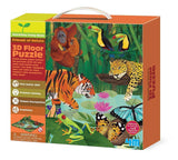 4M 3D Rainforest Floor Puzzle (54 Piece)