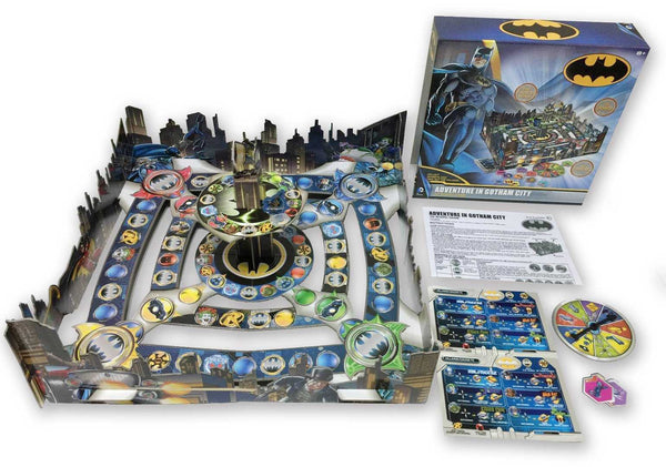 Warner Bros Batman 3D Board Game - Adventure in Gotham City
