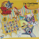 Warner Bros Tom & Jerry 2-in-1 Puzzle and Card Game