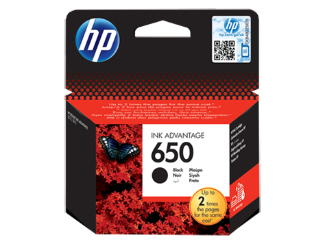 Genuine HP 650 CZ101AE Black Printer Ink Cartridge - emarkiz-com.myshopify.com