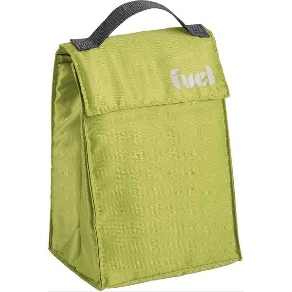 Trudeau Fuel Triangle Lunch Bag Green