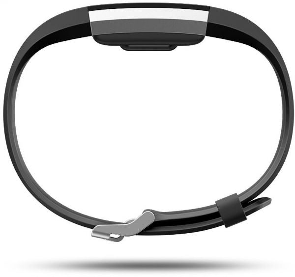 Fitbit Charge 2 Black Silver Fitness Tracker