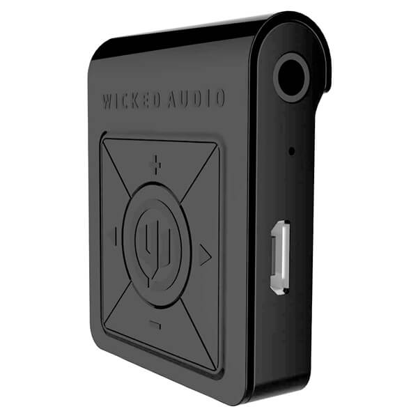 Wicked Audio The Reach Black Bluetooth Receiver