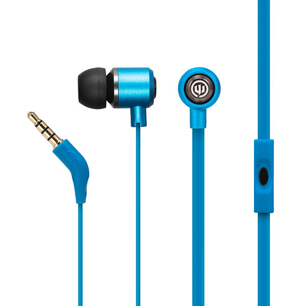 Wicked Audio Panic Earbuds With Mic Earphones in 4 Colors