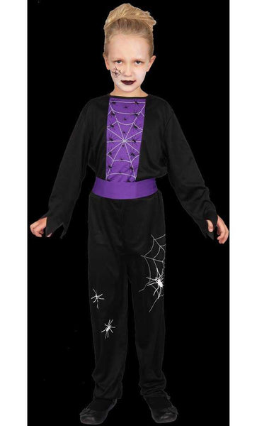 Halloween Spider Girl Kids Costume