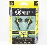 Wicked Audio Fang Noise Cancellation Earbuds Earphones - 3 Colors - emarkiz-com.myshopify.com