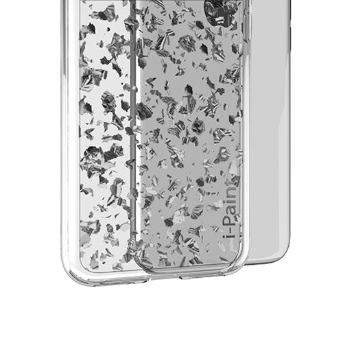 i-Paint iPhone X Glitter Flake Case