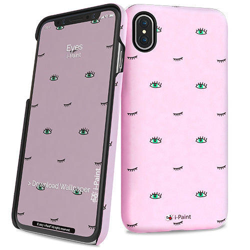 i-Paint iPhone X Eyes Hard Case - emarkiz-com.myshopify.com