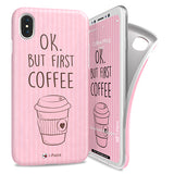 i-Paint iPhone X Coffee Mug Soft Case