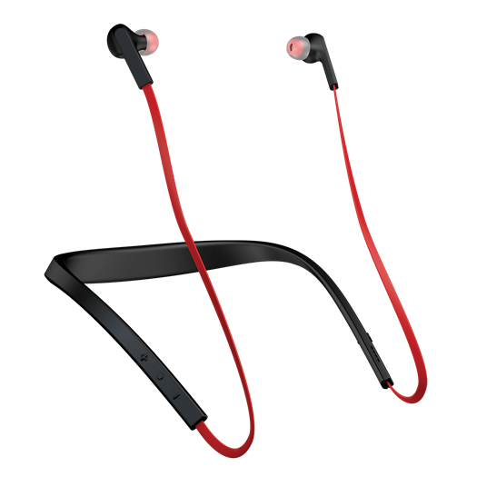 Jabra Halo Smart Wireless Noise Cancellation Headset Red Blue Black