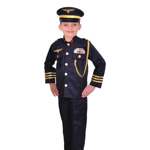 Boy Pilot Uniform Kids Costume