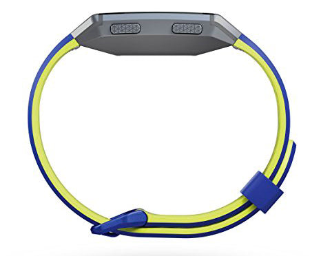 Fitbit Ionic Accessory Sports Band Blue Yellow - emarkiz-com.myshopify.com