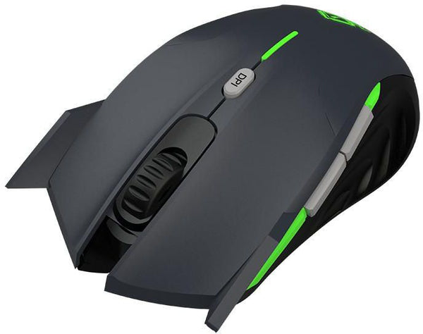 XPOSEIDONG Keep Out Optical Gaming Mouse Grey 4000 DPI and 6 Buttons - emarkiz-com.myshopify.com