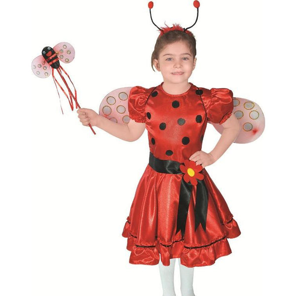 Ladybird Beetle Girls Animal Costume Dress