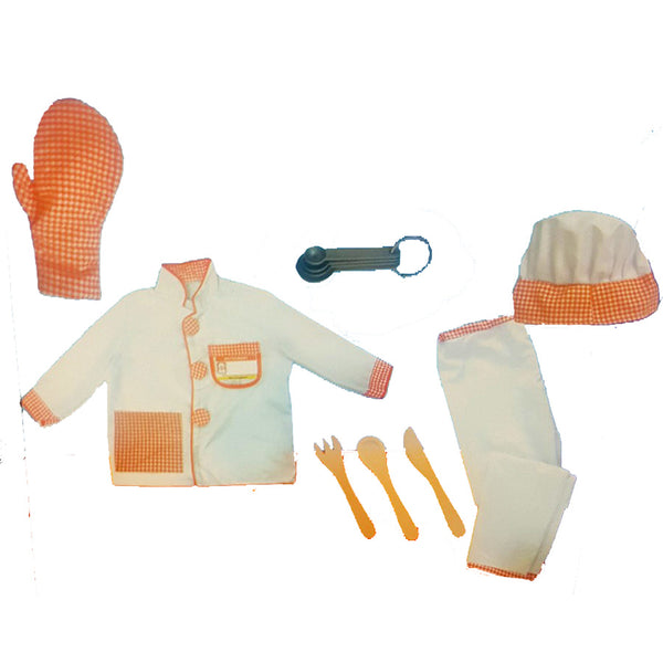 Kids Chef Baking Cooking Costume
