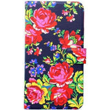 Accessorize iPhone 6 Diary Case Navy Rose