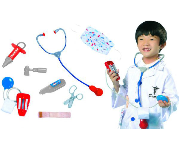 Kids Doctor Surgeon Costume Set