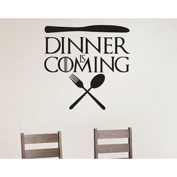 Dinner Is Coming Game Of Thrones Wall Decal - emarkiz-com.myshopify.com