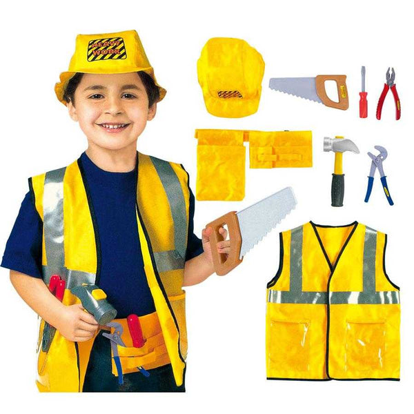 Kids Construction Worker Handyman Builder Costume - emarkiz-com.myshopify.com