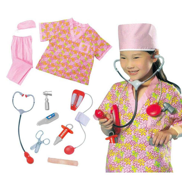 Kids Nurse Costume Set