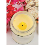 Saante Aromatherapy Jasmine Pure Beeswax Honey Candle