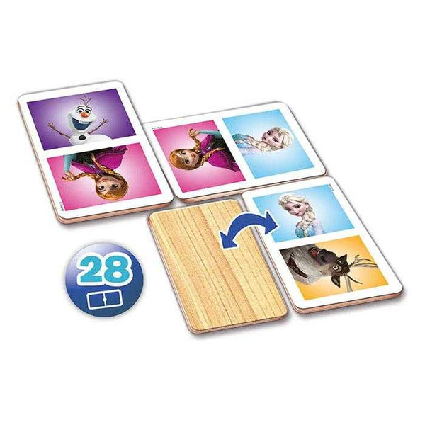 Educa Domino Wood Frozen Puzzle