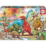 Educa Dinosaurs 100 Pieces Puzzle