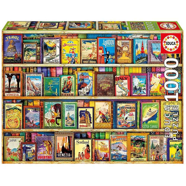Educa 1000 World Travel Guides Puzzle