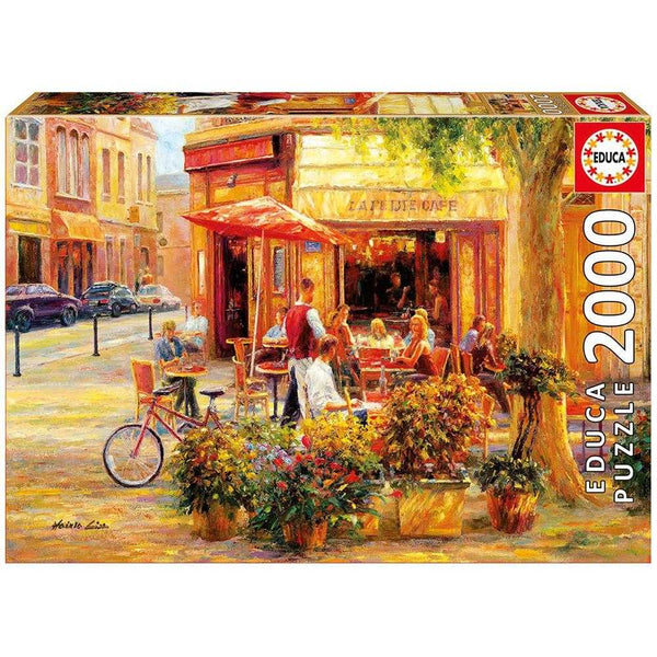 Educa 2000 Corner Cafe and Haixia Liu Puzzle