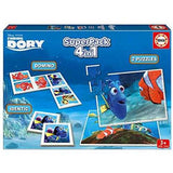 Educa Superpack Finding Dory 4 in 1 Puzzle