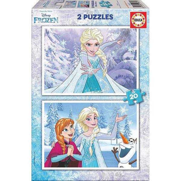 Educa 20 Pieces Frozen 2 Puzzles