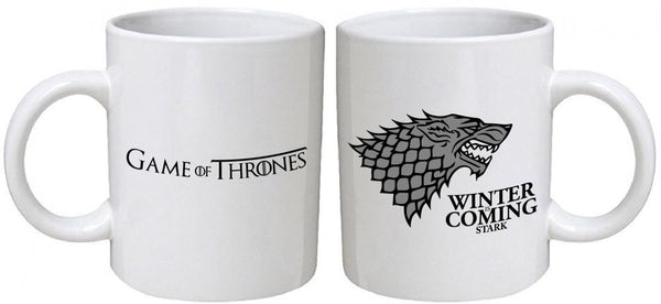 Game of Thrones Silver Winter is Coming Coffee Mug
