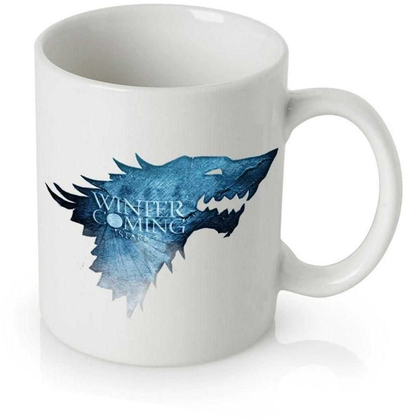 Game of Thrones Blue Winter is Coming Coffee Mug