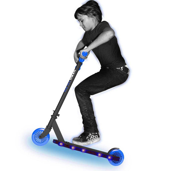Neon Viper Scooter Blue