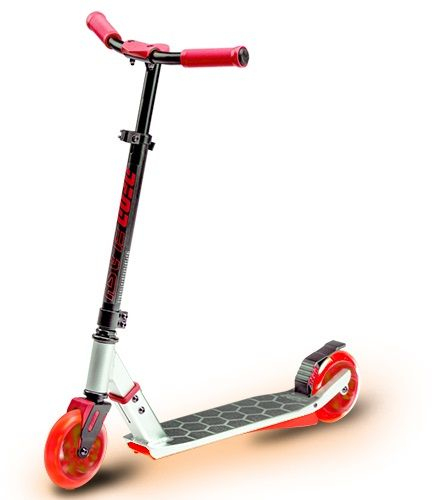 Neon Flash Scooter Red