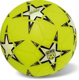 Starballs Soccer Ball Orange Gold 23cm