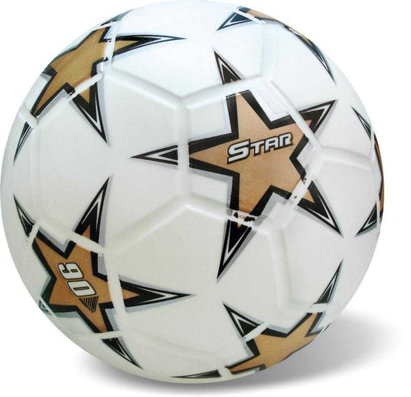 Starballs Ball Soccer all Star White Gold 23cm