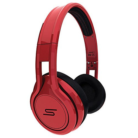 STREET by 50 Cent On Ear Wired Headphones - RED