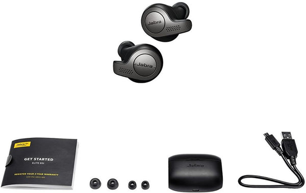 Jabra Elite 65t True Wireless Earbuds Headphones Titanium Black