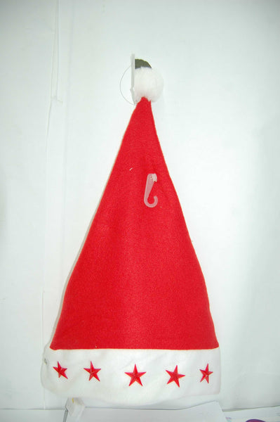 CHRISTMAS HAT with 5 FLASHING STARS