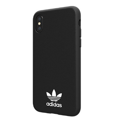 Adidas Originals Moulded Case for iPhone XS/X Black White - emarkiz-com.myshopify.com