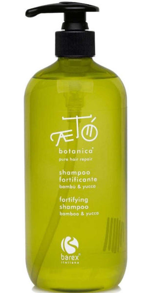 Paraben and Sulphate Free Barex AETO Fortifying Shampoo Bamboo & Yucca 500 ml - emarkiz-com.myshopify.com