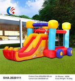 Inflatable Bouncy Castle Play Pool Indoor Outdoors Trampoline For Kids