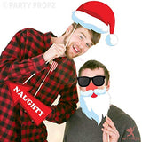 Party Propz Set of 29Pcs Photobooth propz for Christmas Parties/ Christmas Photo Props - emarkiz-com.myshopify.com
