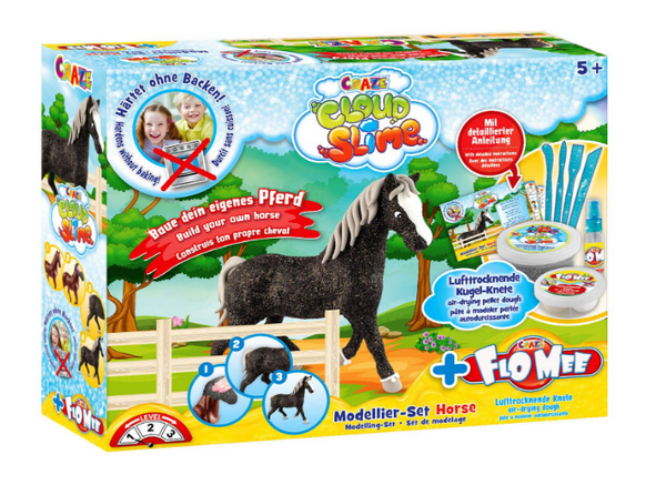 Cloud Slime Flo Mee and Cloud Modelling Set Horse, Multi-Colour - emarkiz-com.myshopify.com