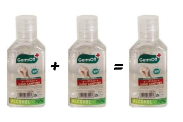 GermOff Hand Sanitizer Gel 60ml
