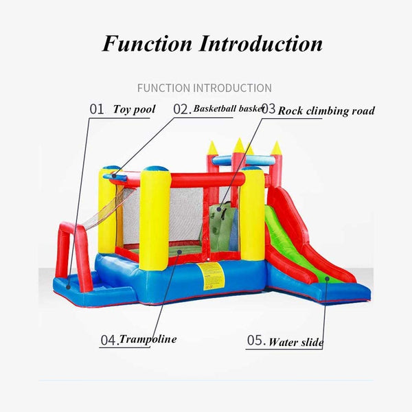 Bouncy Castle Trampoline