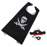 Pirate Costume with Cape and Mask