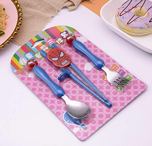 Spiderman Stainless Steel Kids Cutlery Set - emarkiz-com.myshopify.com